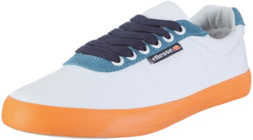 Ellesse Portofino EHOUL063CS, Chaussures Marche nordique mixte adulte Weiss (white-blue-glory 15A)