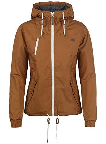 DESIRES Tilda Damen Übergangsjacke Jacke mit Kapuze, Größe:L, Farbe:Cinnamon (5056)