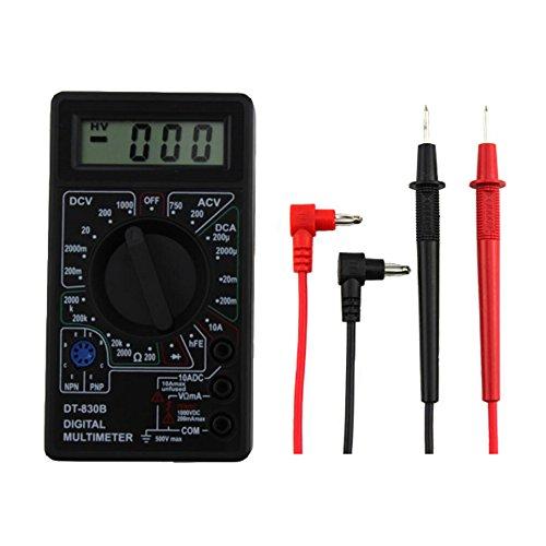 Digitales Multimeter DT-830B LCD Voltmeter Amperemeter Ohmmeter Volt AC DC Tester Messgerät Werkzeug Digital-multimeter Tester