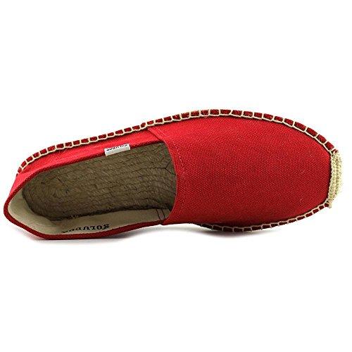 Soludos Original Espadrille Rund Textile Espadrille Dali Red