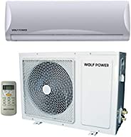 Wolf Power 2 Ton Split Air Conditioner with Piston Compressor, White - WSAC24PCH, 1 Year Warranty
