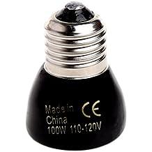 Top-Sell Infrarrojo Lejano Emisor De Calefacción Lámpara De Luz De Calefacción Para Reptiles Mascotas Volver (100)