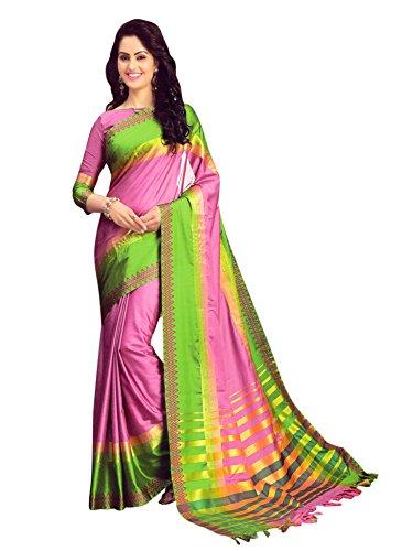 Miraan Cotton Printed handwoven saree for women