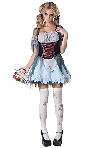 ancy dress costume X-Large (Scary Clown Girl Kostüme)