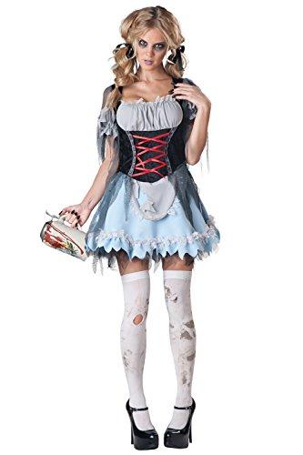 Zombie Beer Maiden Fancy dress costume ()
