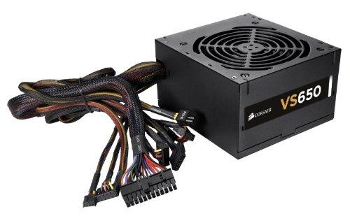 Corsair CP-9020051-WW VS Series VS650 650 Watt Power Supply Unit (Black)