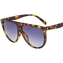 ZODOF Clasico Marco Redondo Espejo Gafas de Sol de Moda Gafas de Sol Populares del Estilo