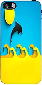 Snoogg Abstract Summer Background Designer Protective Back Case Cover Forfora...