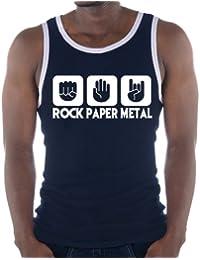 Amazon Y Ropa Metal Camisetas Heavy es Tops De Tirantes xSB1xwq