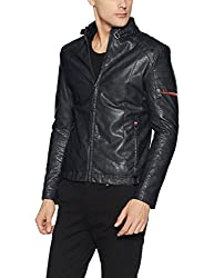 Fort Collins Mens Quilted Synthetic Jacket (32506 AZBlackL)