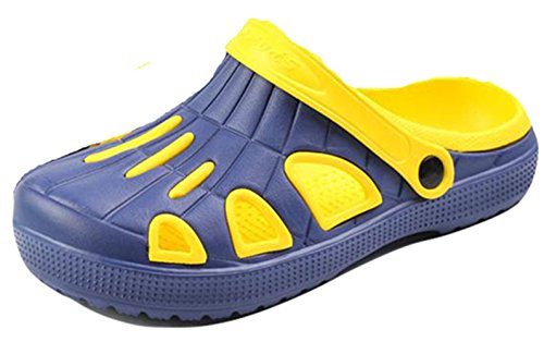 Früling Ao Um Amarelo Os Homens Casuais Tamancos Mulas Respirável Livre Verão Ar Pouco wxg4px8qZ