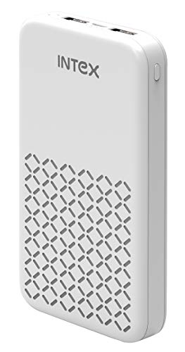 Intex IT-PB-16K Poly 16000mAH Lithium Polymer Power Bank (White)
