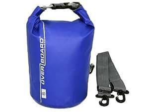 Overboard Wasserdichter Packsack, Blau, 5 Liter, OB1001B