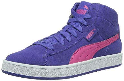 Puma - Puma '48 Mid Jr, Alte Scarpe Da Ginnastica infantile Blu (Blau (blue iris-fuchsia purple 03))