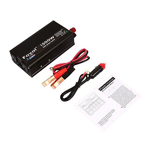 12v Ac-adapter 120v (Auto Power Inverter, Foval 1500W 12V bis 110-120V Wechselrichter Adapter)