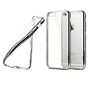 GOLDENGLOBE Back Case For Apple Iphone 6 (Silver color)