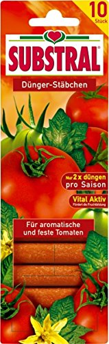 SCOTTS Substral Tomaten Dünger-Stäbchen, 10 Stück