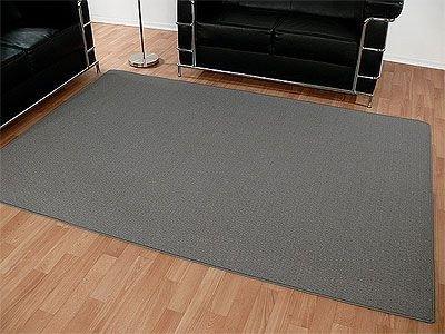 Sisal Natur Teppich Dekowe Grau in 24 Größen