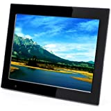 Xoro DPF 15B1 Digitaler Bilderrahmen 38,1 cm (15 Zoll) TFT-Display (4:3, SD/SDHC/MMC/MS Pro, USB 2.0, Diashow, Video-Wiedergabe, bewegungssensor, Fernbedienung) schwarz