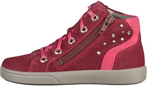 Superfit 1-00021 Mädchen Sneakers Rot