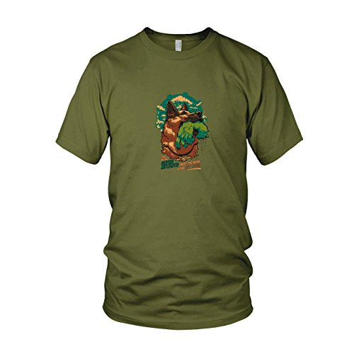 Army Kostüm Boy Grüne - Super Mutant Dog - Herren T-Shirt, Größe: XXL, Farbe: Army