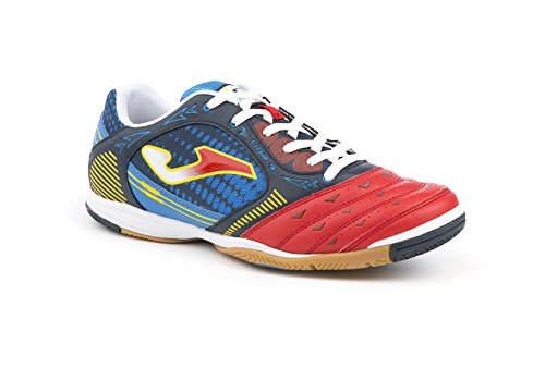 JOMA CALCETTO LIGA-5 AW 606 RED-NAVY-ROYAL INDOOR. 45