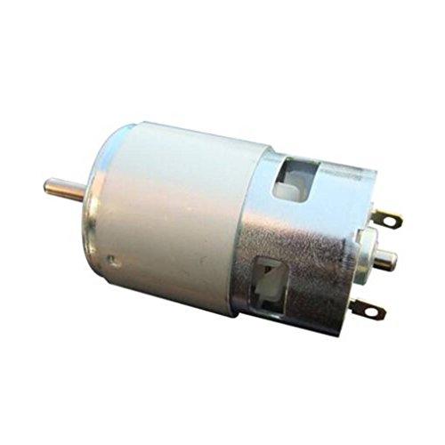 Laileya Reducción de ruido 775 12V 24V 60W DC bola doble cojinete...