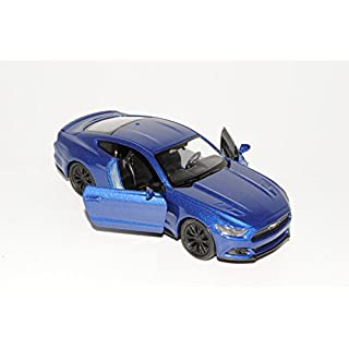 alles-meine.de GmbH Ford Mustang VI Coupe Blau Ab 2014 ca 1/43 1/36-1/46 Welly Modell Auto