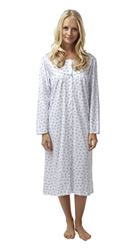 Marlon Damen Nachthemd Pflaume