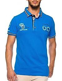 CARISMA Herren Polo-Shirt mit Stickerei