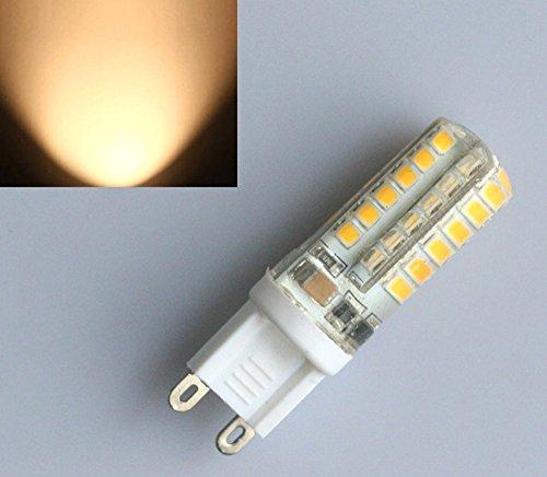 Preisvergleich Produktbild 4X Sunix G9 5W LED Glühbirne Stiftsockel Leuchtmittel Lampe Warmweiß 48 SMD 230V
