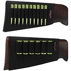 Tourbon Fusil de chasse Fusil munitions élastique manches Buttstock Shotshell Laser support - Rifle+Shotgun