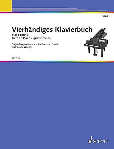 Vierhandiges Klavierbuch Piano