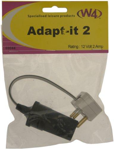 W4 Zigarre Clipsal Typ-2-Pin-Adapter - Schwarz (Veranda 12v)