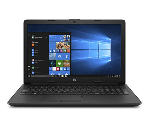 HP 15-da0207ng (15,6 Zoll / HD) Laptop (Intel Celeron N4000, 4GB DDR4 RAM, 256GB SSD, Intel UHD Grafik, Windows 10 Home) schwarz