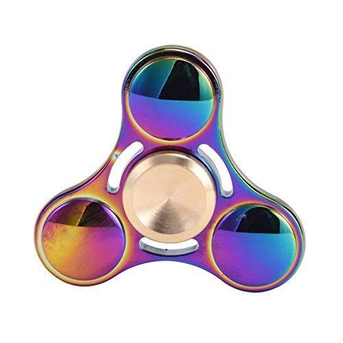 WiBille colorato rame Tri Anti-ansia Fidget Spinner