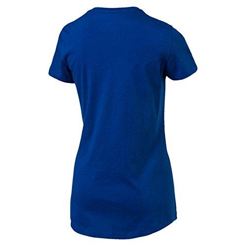 Puma Elevated Tee W, T-shirt Femme True Blue