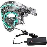 0446f2f82 Coddsmz Masquerade Máscara de Steampunk Fantasma de la máscara Veneciana  Máscara de Fiesta mecánica (Plata