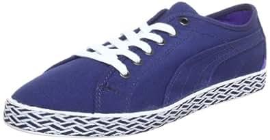 Puma Kamila Espadrille 354797, Damen Sneaker, Weiß (white-fluo peach 02), EU 36 (UK 3.5) (US 6), Blau (medieval blue-white 03) (Blau (medieval blue-white 03)), 37,5 UK