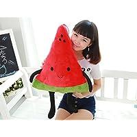 tfxwerws creativo novedad juguete peluche dibujos animados sandía frutas almohada