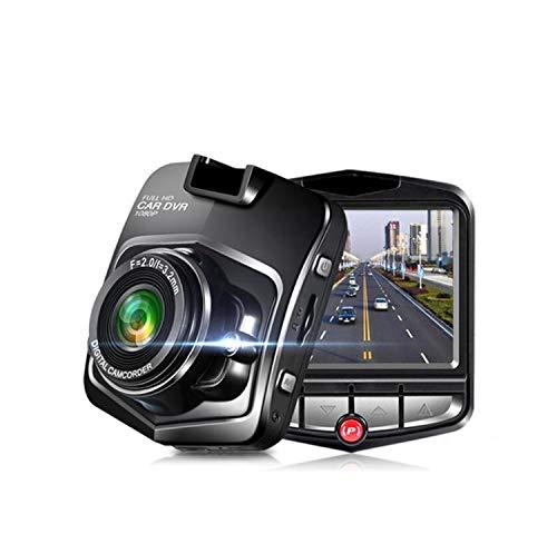 CARZJ NewAuto Dash Cam 1080P HD Stealth Driving Recorder Nachtsicht Bewegungserkennung G-Sensor Auto Geschenk Schwarz