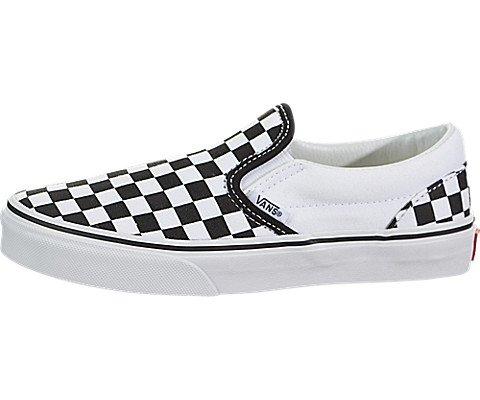 VANS Kinderschuhe - CLASSIC SLIP ON - Checkerboard black white, Größe:28 (Checkerboard Slip)
