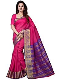 Ishin Cotton Saree With Blouse Piece(Ishinbvni-Heavypallu2015_Pink_Free Size)