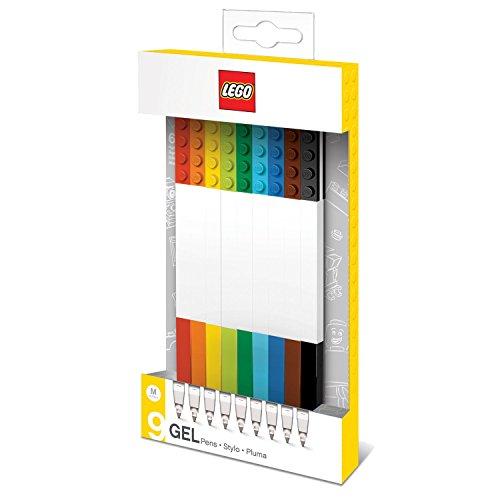 Lego 0229628 Cancelleria Penna Gel, 9 Pezzi