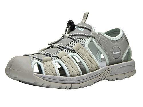 4a0090cb Knixmax-Sandalias de Senderismo Verano para Hombre Mujer Verano Exterior  Senderismo Ligeras Antideslizantes Zapatillas Trekking