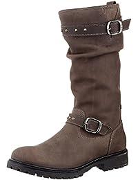 Lepi Mädchen 3047LES Langschaft Stiefel
