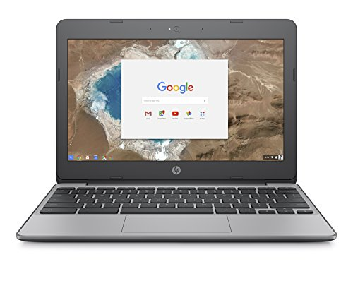 HP Chromebook 11-v000na 11.6-inch HD Laptop (Ash Grey) - (Intel Celeron N3060, 2GB RAM, 16GB eMMC, Intel HD Graphics Card, Chrome OS)