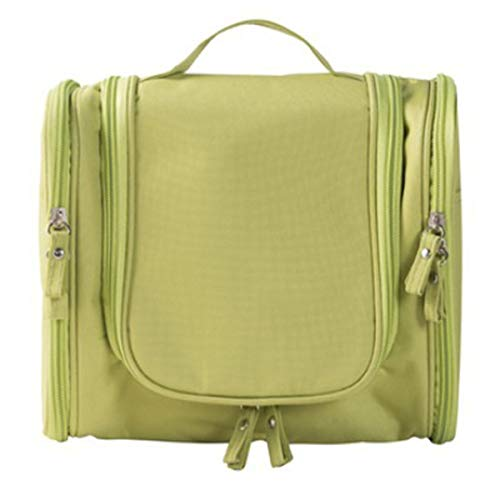 Trousse de toilette de voyage cosmétique ultra-large avec sac de rangement pour sac à main pour boîte de maquillage (Color : Green)