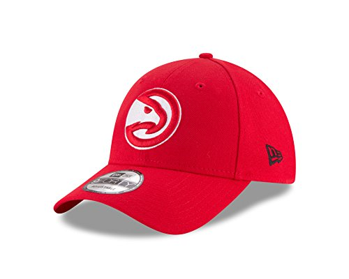 New Era Herren 9Forty Atlanta Hawks Kappe, Rot, M Hawk-baseball-cap