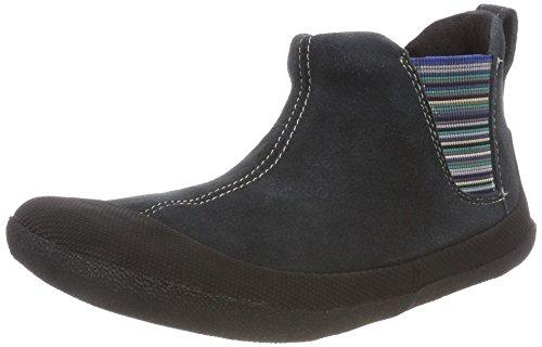 Sole Runner Mädchen Portia SPS Chelsea Boots, Blau (Blue/Black), 25 EU